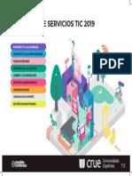 Infografia Catalogo Servicios TIC 2019 Poster CMYK