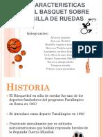 Basquet Sobre Silla de Ruedas