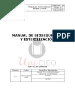 Bioseguridad y Esterilizacio?n 2018