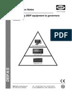 Interfacing Deif a.v.r y Speed Control