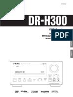 Manual Teac Drh300
