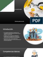 Competencias Laborales Profesionales  EN LA CONSTRUCCION