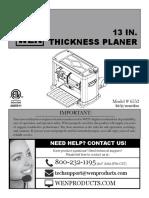 Wen 6552 User Manual