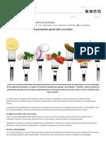 La Importancia de La Gastronomía en Un Evento.