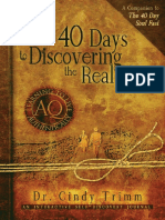 40 Days to Discovering the Real - Dr. Cindy Trimm