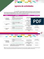 Cronograma de Actividades MOOC Herramientas