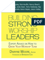 Building Strong Worship Leaders