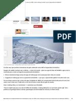 Para Onde Vai o A68, o Maior Iceberg Do Mundo, Que Se Desprendeu Da Antártica