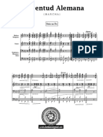 Juventud Alemana-partitura Banda