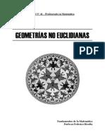 Geometrias No Euclidianas