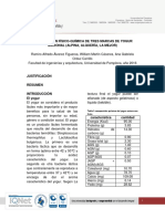 Comparación Físico-química de Tres Marcas de Yogur Nacional