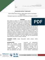Laboratorio4 ANALISIS de FRUTAS Y VEGETALES - Analisis de Alimentos