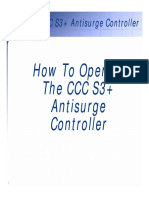 03A How To Operate CCC S3+ Antisurge Control