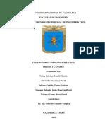 Cuestionario Presas y Canales