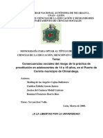 PROSTITUCIÓN EN NICARAGUA