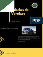 AutoBrilho - Tabela Vernizes E-BOOK