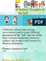Western and Eastern Thoughts of the Self-1