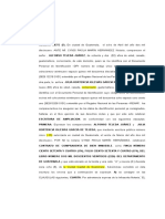 Ampliacion de Fondo ESCRITURA COMPRA  VENTA CON RENTA VITALICIA