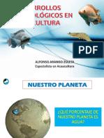 Desarrollos Biotecnologicos en Acuicultura