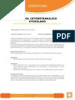 Ficha Tecnica - Alcool Cetoestearilico Etoxilado