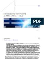 IBM Ergin Babani DB2LUW Online Table Moves