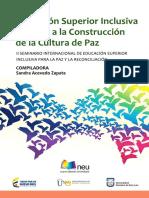 2 Libro Educacion Superior Para La Paz y La Reconciliacion