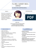 Formato currículum
