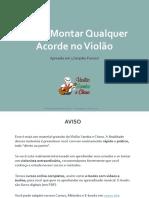 Ebook como montar qualquer acorde no violao.pdf