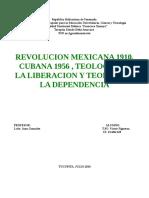 Revolucion mexicana 1910 y Revolucio cubana de 1959