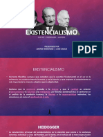 Existencialismo (Sartre, Haidegger..)