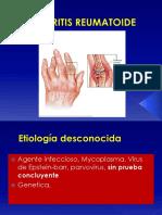 Artritis Reumatoide 2015 2018 2019