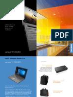 Lenovo V330 15 Datasheet EMEA ES v3