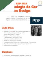 2018 AUP2324 Aula1 Tecnologia Da Cor Em Design