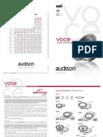 Voce Speakers Manual Manual
