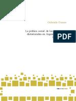 Gabriela Gomes - La Política Social de Los Regímenes Dictatoriales en Argentina y Chile 1960-1970