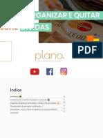 E-book - Como organizar e quitar suas dívidas