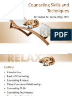 Counseling Skills & Technqiues