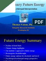 Future Energy Evolution - Thomas Valone, 2010