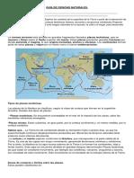 Guia de Ciencias Naturales Placas Tectonicas 1.1