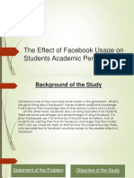 The Effect of Facebook Usage on Students Academic2.pptx