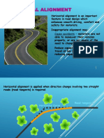 Chap 6 Geometric Design Horizontal