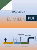 Escatología. El Milenio