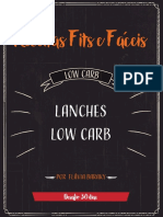 Lanches low carb