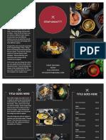 Contoh Brochure Kedai Makan