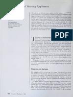 Biomechanics of pivoting appliances