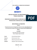 PROYECTO de INNOVACION Para Senati Motor Mazda Rf
