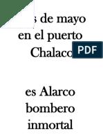 Himno Al Bombero