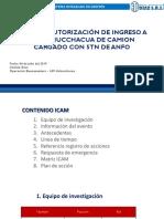 Presentaciion de Investigación de Incidentes Transportes Diaz