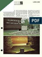 Sterner Infranor Lans-Cube Brochure 1981