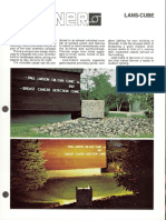 Sterner Infranor Lans-Cube Brochure 1989